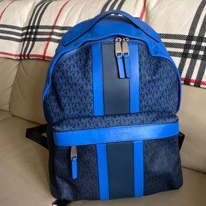 Michael Kors ombré marine leather  Backpack NWOT